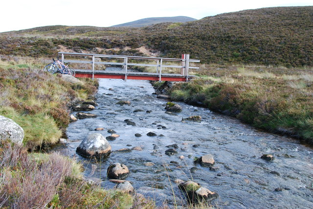 Footbridge over the Nethy