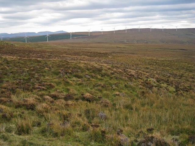 Towards the windfarm