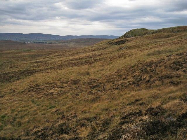 South facing slope of Ben Vic Askill