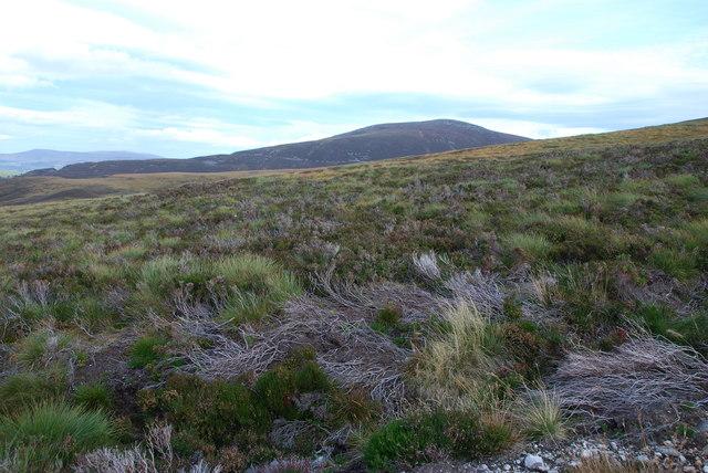 High Moorland near Fionna Choire