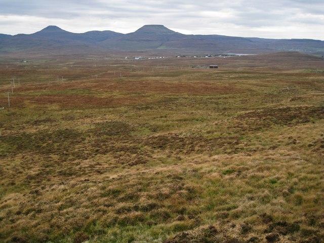 West over the moor