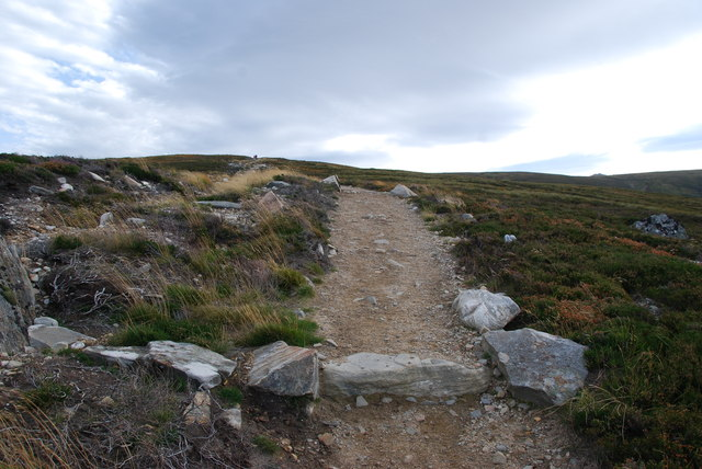 Footpath to Braemar and Bynack More