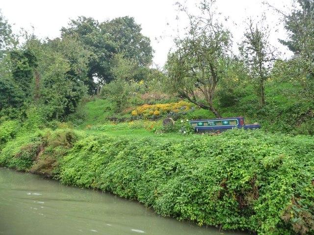 Allotment gardens, north-east of Park Bridge