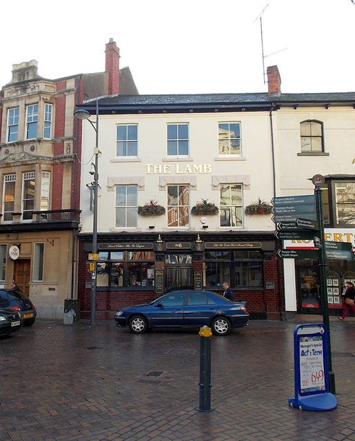 New look for The Lamb in Newport city centre