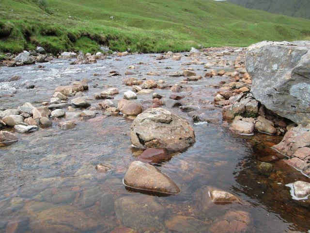 The Allt Tarsuinn in the Arkaig Hills