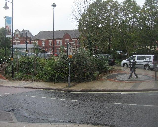 Taxi rank - Basingstoke Station