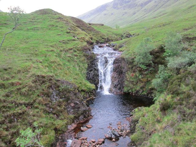 Waterfall in the Gleann Tarsuinn