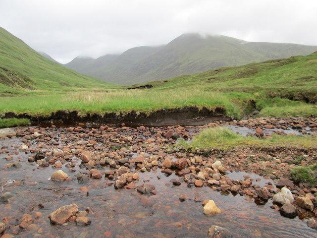 Retrospect, towards the Meall nan Teanga range