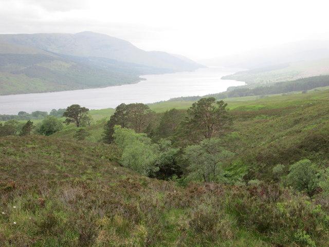 Descent to Loch Arkaig