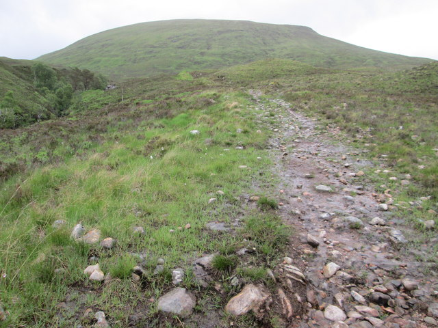 Path down towards Loch Arkaig