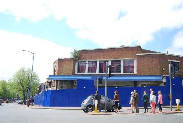 The derelict cinema