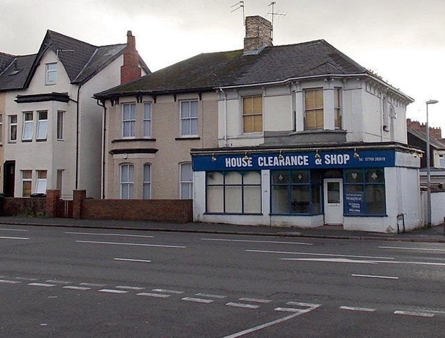 Former House Clearance & Shop, Maindee, Newport