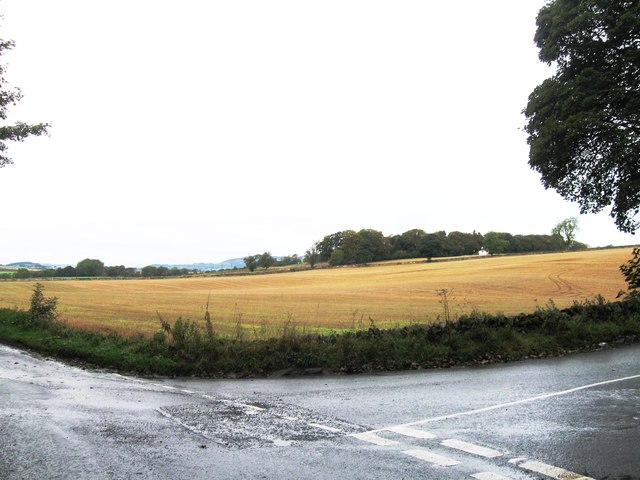 Road junction, Duntrune Hill
