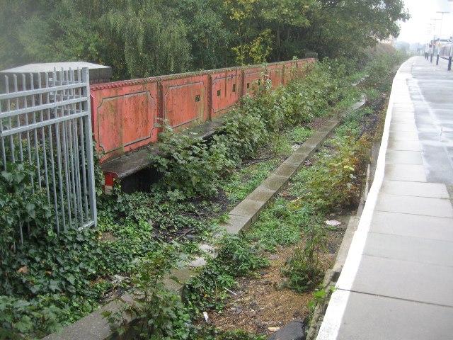 Former station platform - Basingstoke
