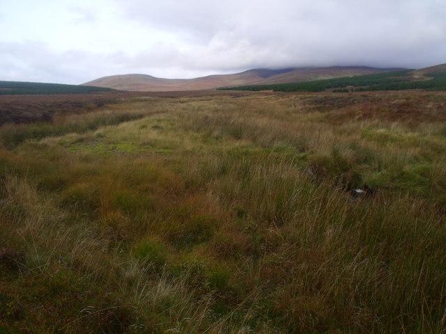 Lub na h-Uaire by Feith a' Chuill near Crask Inn, Sutherland