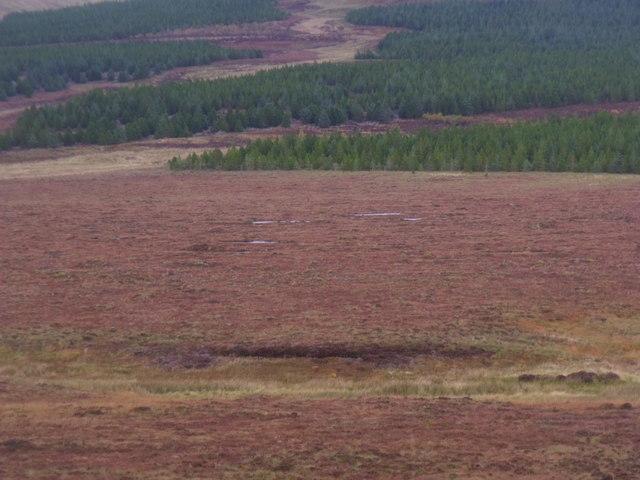 Lub na h-Uaire from Cnoc na Doire near Crask Inn, Sutherland