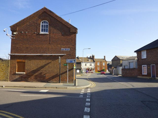 Junction of Bridge Road, North Lane and Conduit Street Faversham