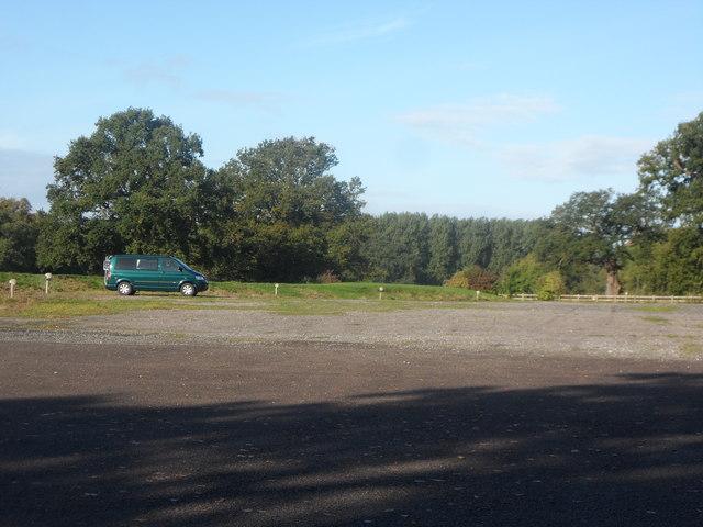 The Car Park at Stoneleigh Abbey