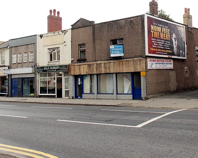 Former Betfred shop in Maindee, Newport