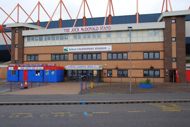 The Caledonian Stadium No 1