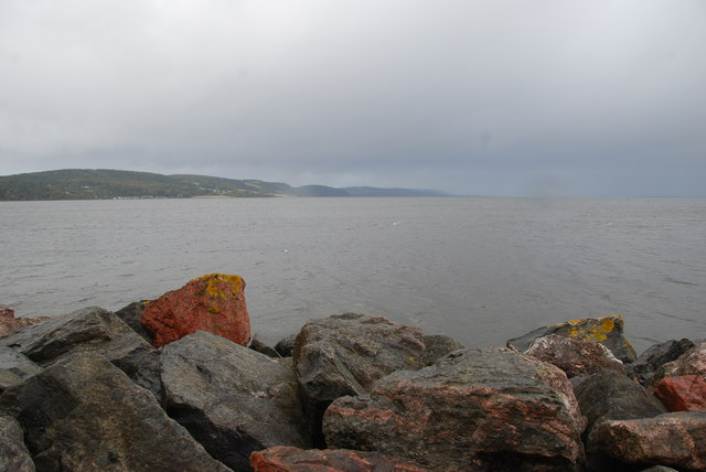 Looking out on the Moray Firth