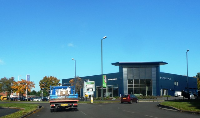 Car Showroom on the A45
