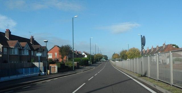 A45 at Green Lane