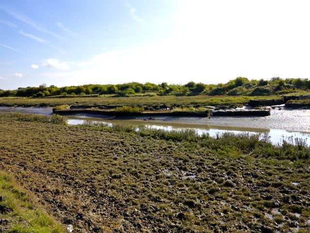 Dock Cassons in Faversham Creek