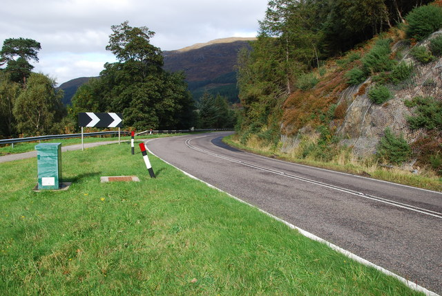 A835 heading to Ullapool