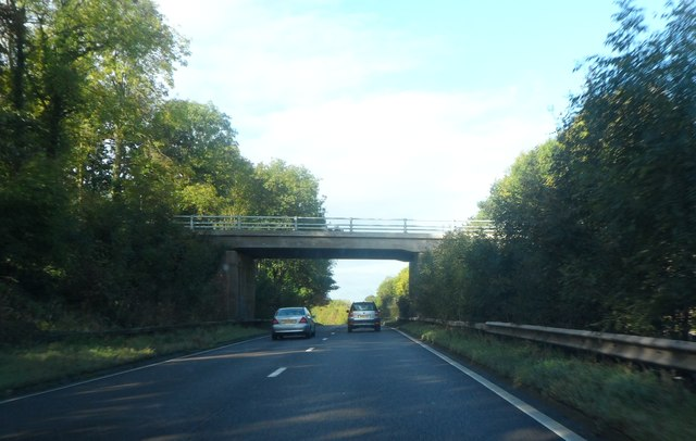 Showell Lane crosses the A45