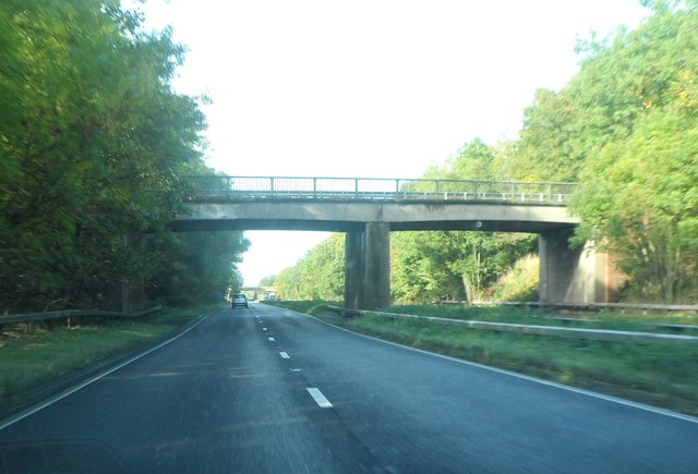Walsh Lane crosses the A45