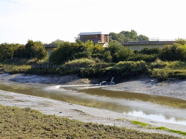 Faversham Sewage Works Outfall