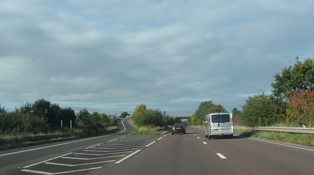 The A45 Birmingham Road