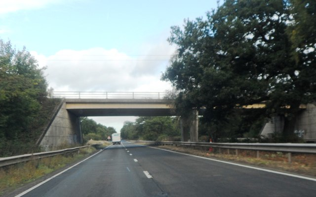 Bridge over the A446