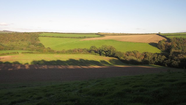 Valley above Holman's Wood