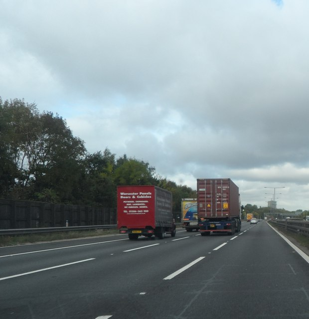 M6 East of Bacon's End