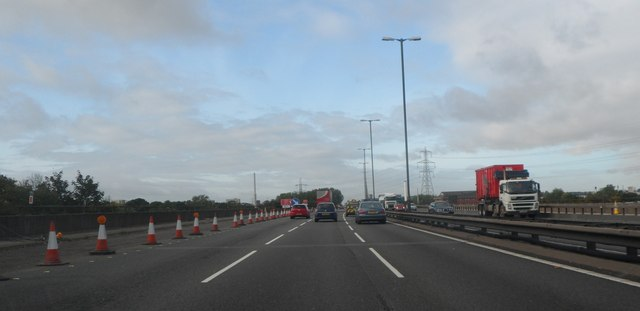 M6 at junction 5