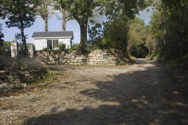 Lane near Binneys