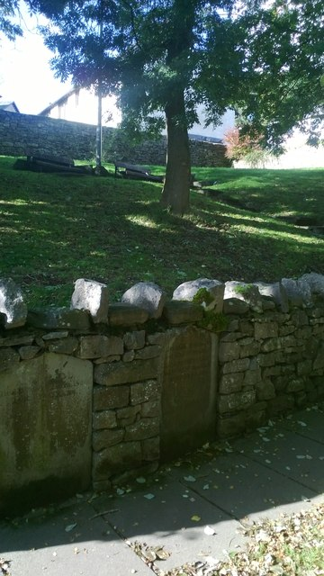 The Quaker Burial Ground off Sepulchre Lane, Kendal