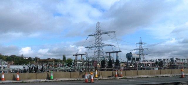 Gravelly Hill Substation