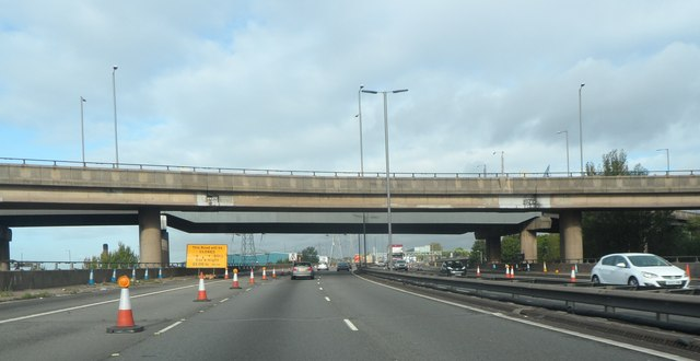M6 at Junction 6