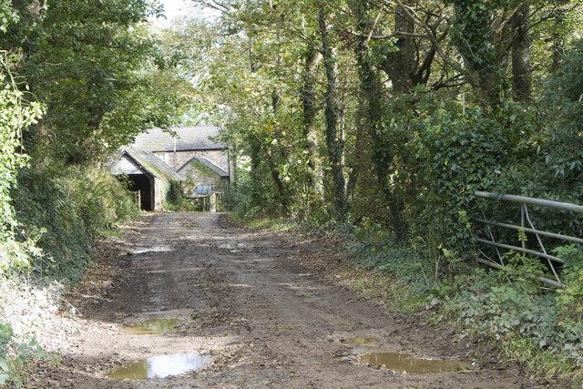Entrance to Causilgey Farm