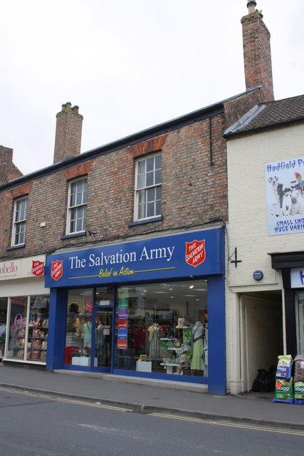 Salvation Army shop, #86B North Street