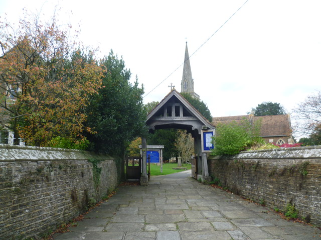 Entrance to St Mary's Churchyard, Frittenden