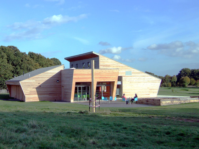 Rear of Belfairs Woodland Centre