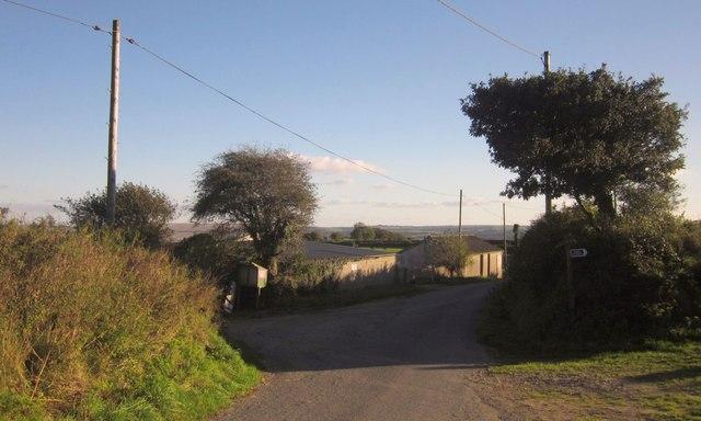 Lane at Trebrown