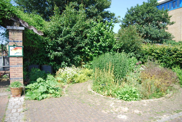 Herb Garden, Surrey Docks Farm