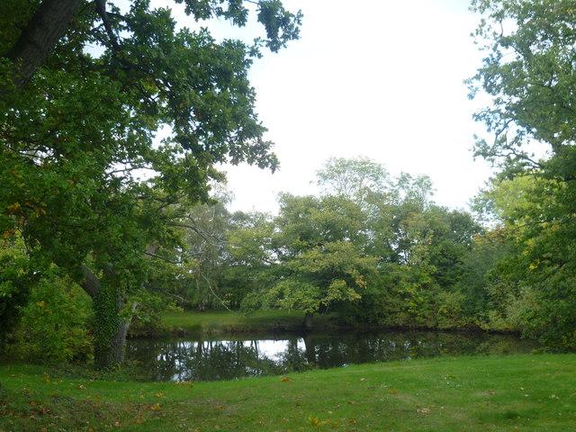 Pond at Bettenham Manor