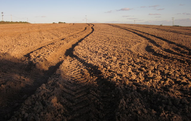 Ploughed field, Penpoll