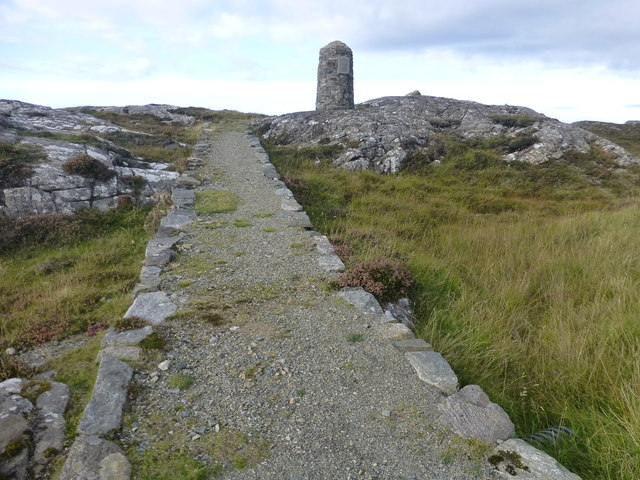 Path To Memorial Cairn